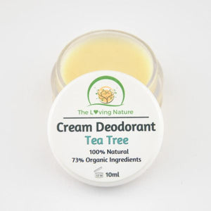 Natural Deodorant Tea Tree - The Beauty Vault