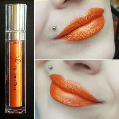 Unicorn Goo (Metallic Liquid Lipstick) Orange - The Beauty Vault
