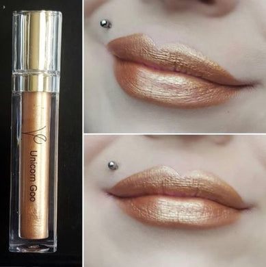 Unicorn Goo (Metallic Liquid Lipstick) Rose Gold - The Beauty Vault