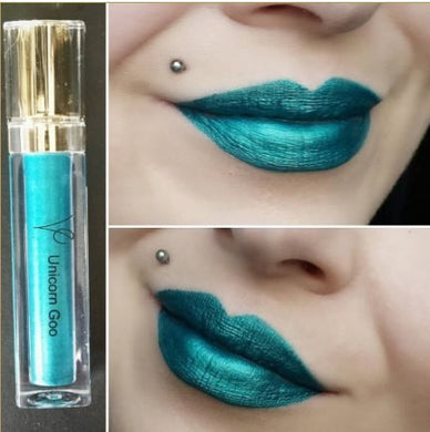 Unicorn Goo (Metallic Liquid Lipstick) Teal - The Beauty Vault