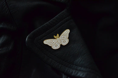 Celestial Moth Pin - The Beauty Vault