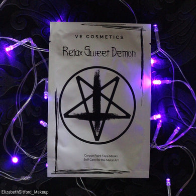 Relax Sweet Demon - The Original Corpse Paint Sheet Mask
