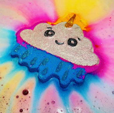 Happy Rainbow Cloud Bath Bomb
