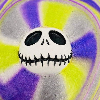 Jack Skellington Bath Bomb
