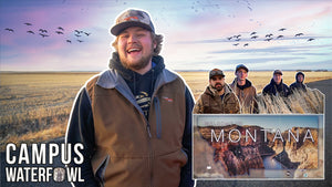 We are in MONTANA for our Collegiate Waterfowl Tour!!