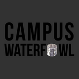 Black Campus Waterfowl Vinyl Decal
