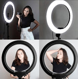 LED Ring Light With Stand For Smartphones & Digital Cameras - The Ring Light Store