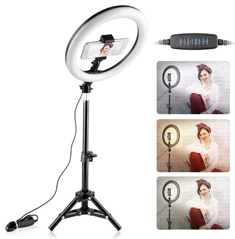 Mini LED Ring Light by The Ring Light Store