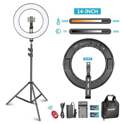 BATTERY POWERED RING LIGHT - The Ring Light Store