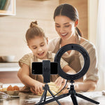 Desktop LED Ring Light with Tripod Stand - The Ring Light Store
