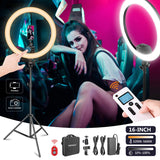 LED Ring Light (Powered by Bluetooth App and Touch Screen) - The Ring Light Store