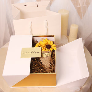 Square Flower Favor Gift Box