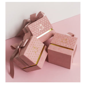 Romantic Square Velvet Box Packaging Candy Chocolate Box Wedding Party Favor Decor Candy Gifts Boxes