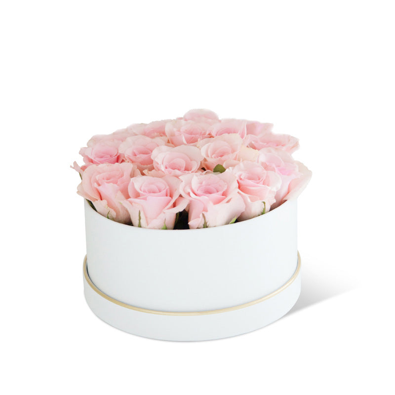 Solid Simple Round Flower Box Wedding Gift Florist Bouquet Packaging Boxes Decoration Floral for Supplies Wrapping Flower Boxes