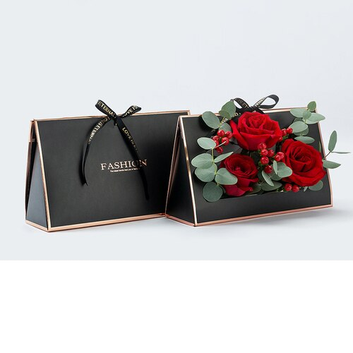 Creative Envelope Pattern Box Packaging Flower Box Florist Decoration Box Wedding Floral Gifts Decor Boxes