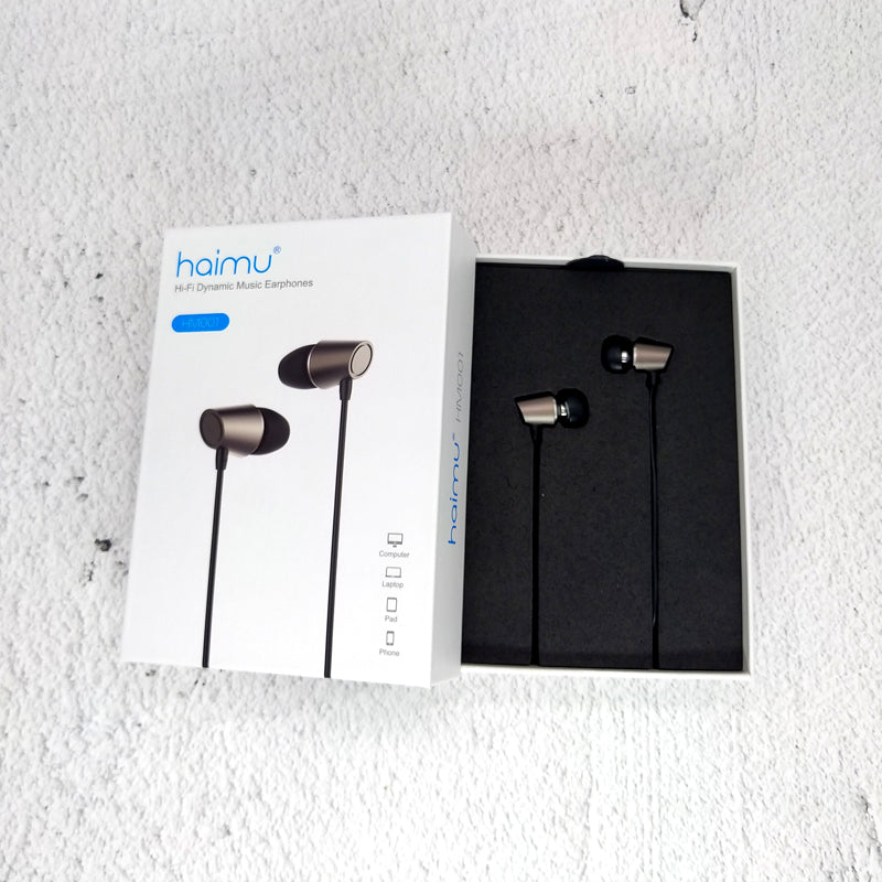 Haimu Hi-Fi Dynamic Music Earphones