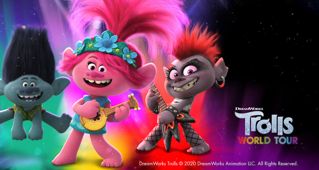 Trolls World Tour coming soon from Papersalt.