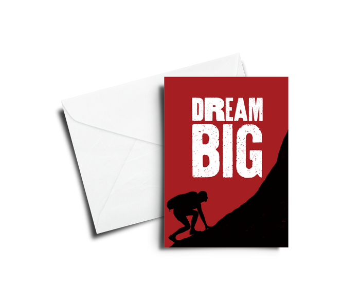 Encouragement Card: Dream Big