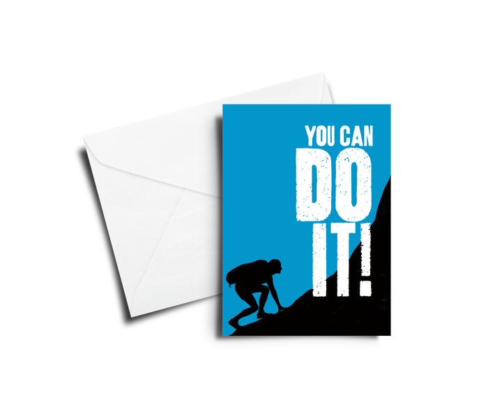 Encouragement Card: You Can Do It