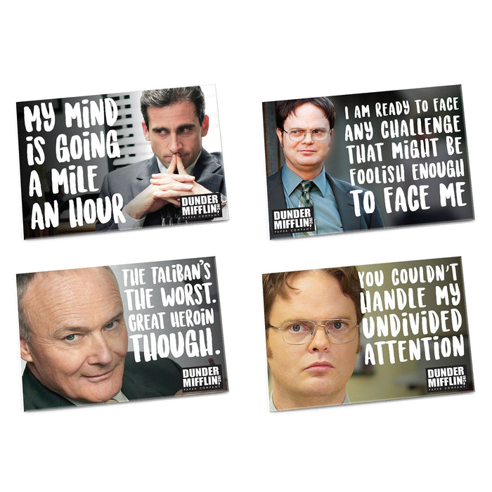 The Office Magnets, Set of 4