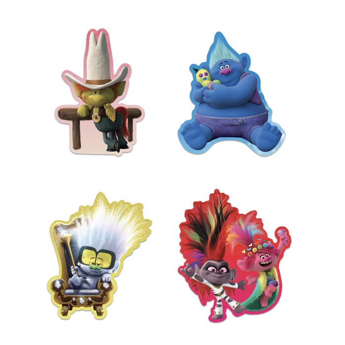 Trolls World Tour Sticker Set