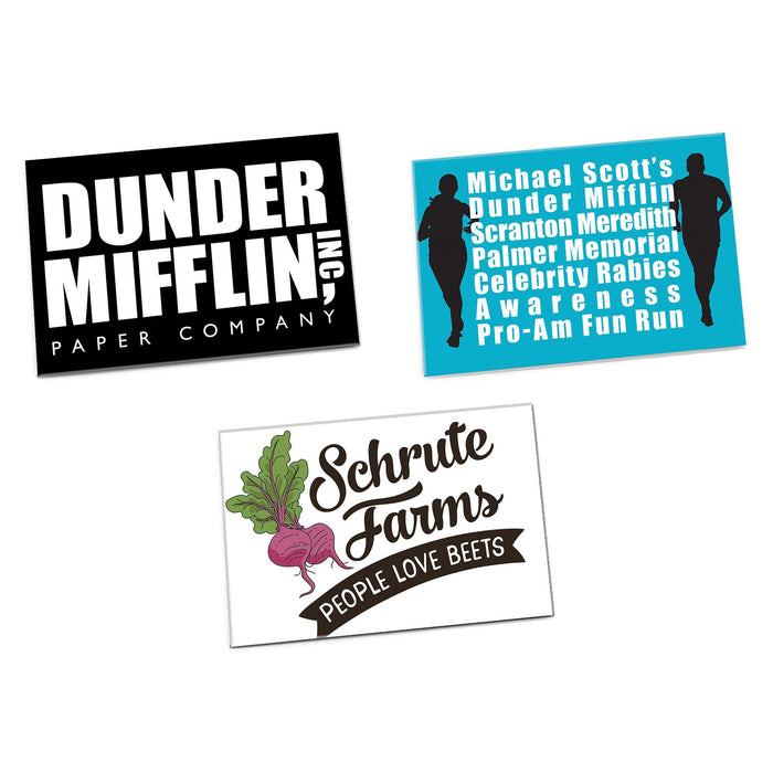 The Office Magnets, Set of 3 - The Office