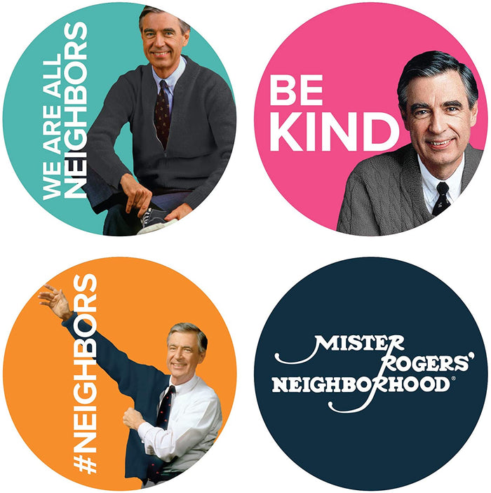 Mister Rogers Sticker Set
