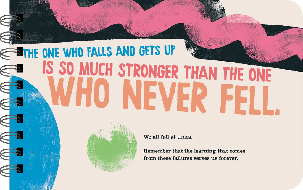 "Grit for Girls ""the one who falls"" page"