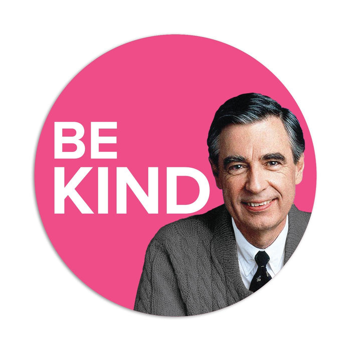 Mister Rogers Sticker - Be Kind