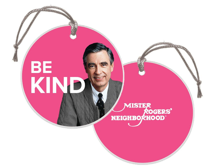 Mister Rogers Be Kind Christmas Ornament