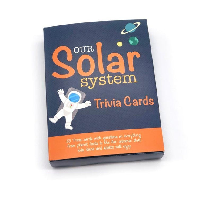 """Our Solar System"" Trivia Card Set"