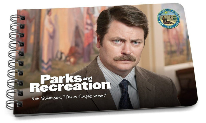 ron swanson quotes book cover