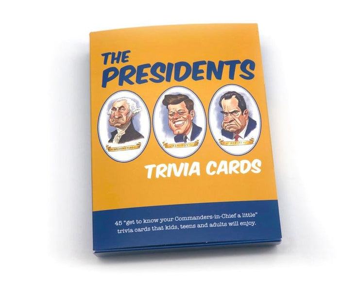 """The Presidents"" Trivia Card Set"