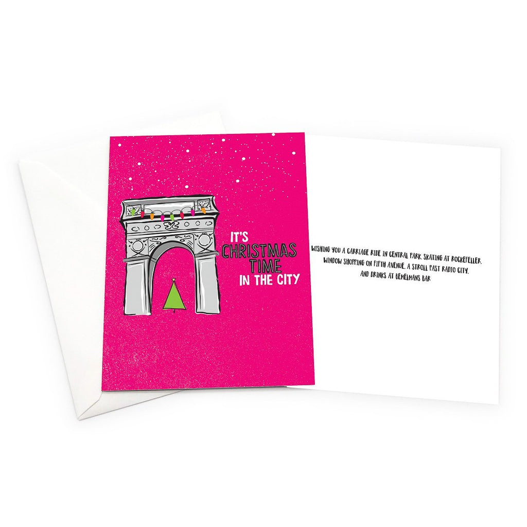 New York City Christmas Card Set