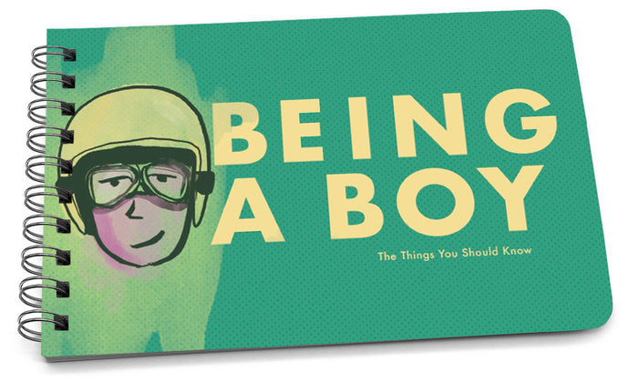 being a boy illustrated cover