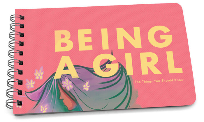 being a girl illustrated cover