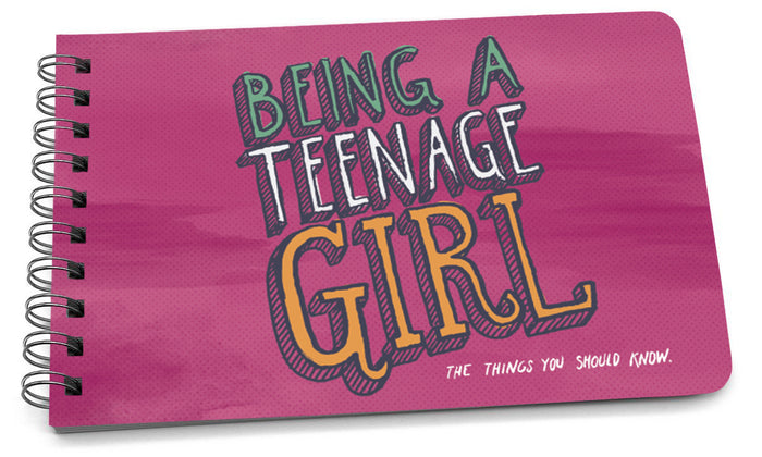 being a teenage girl illustrated cover