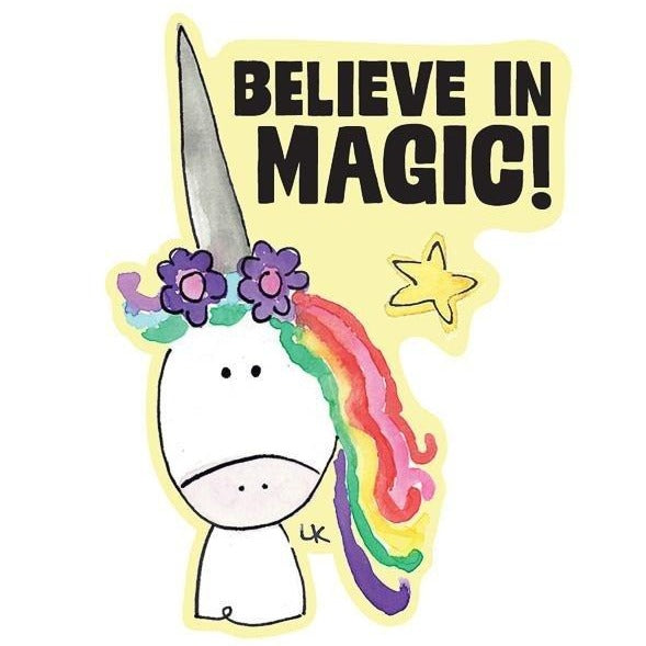 Believe in Magic Kiss-Cut Sticker