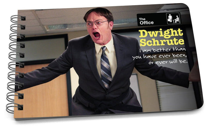 dwight schrute quotes book cover