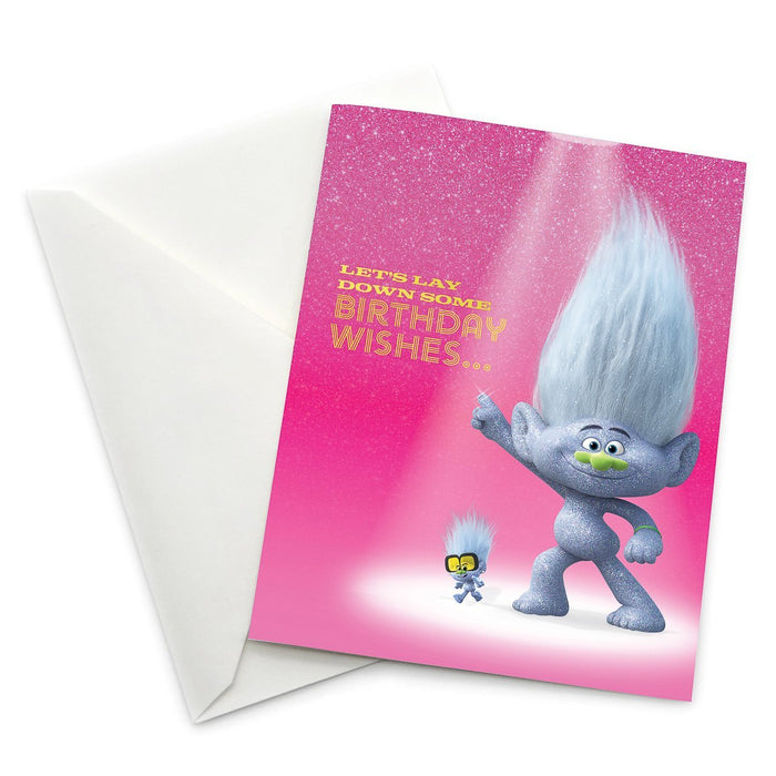 "Guy and Tiny Diamond ""Let's Lay Down Some Birthday Wishes..."" Card 