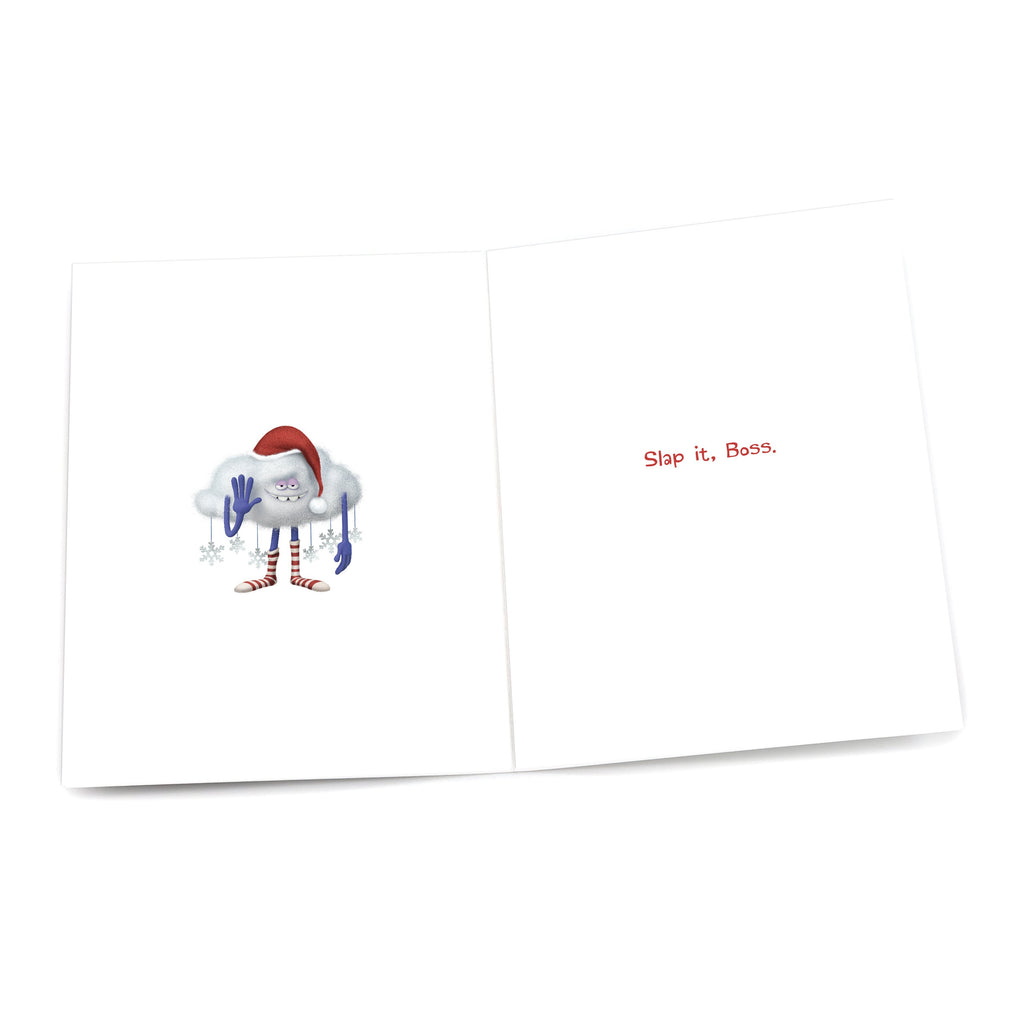 "Cloud Guy ""It's Christmas Time"" Holiday Card"