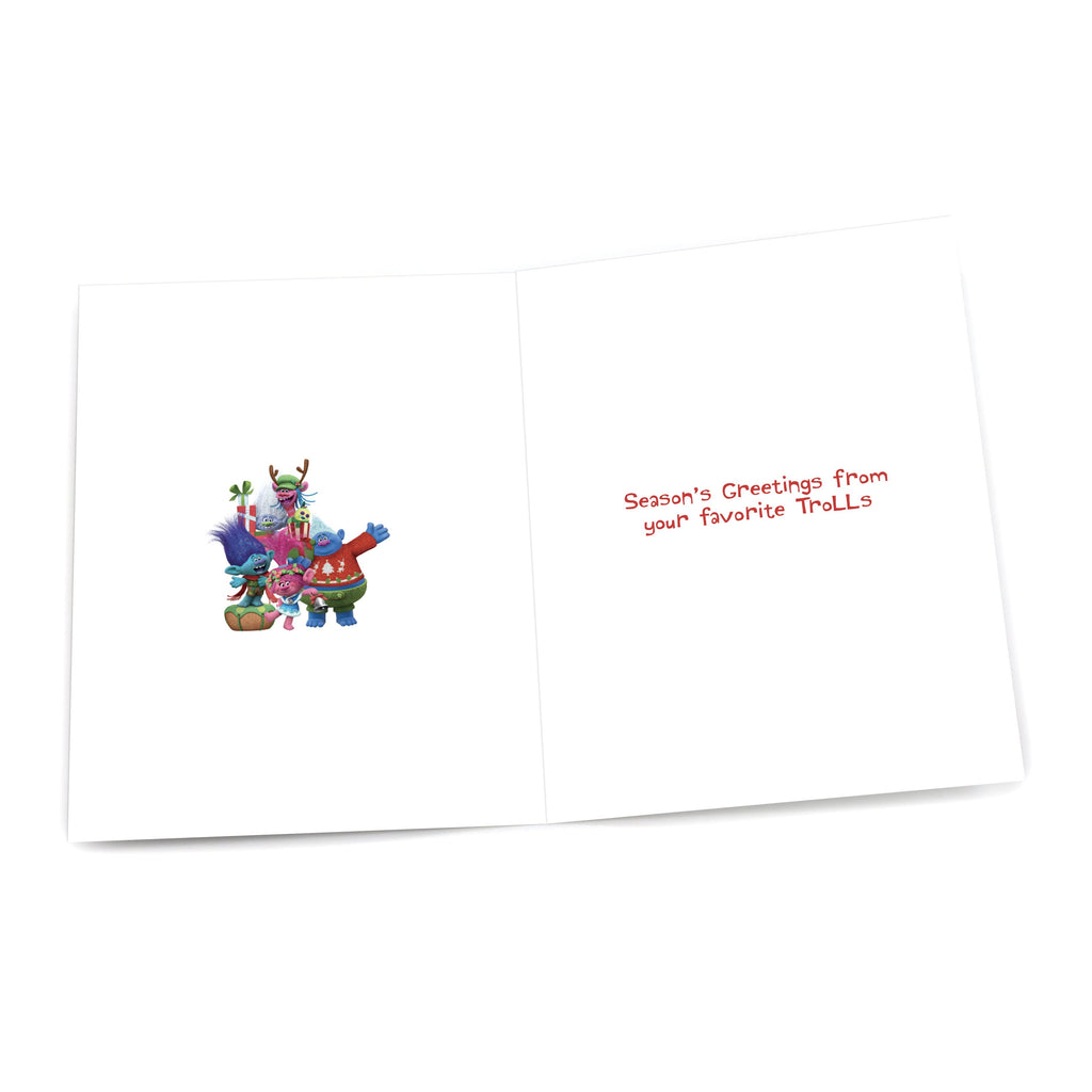 "Trolls ""Joy"" Holiday Card"