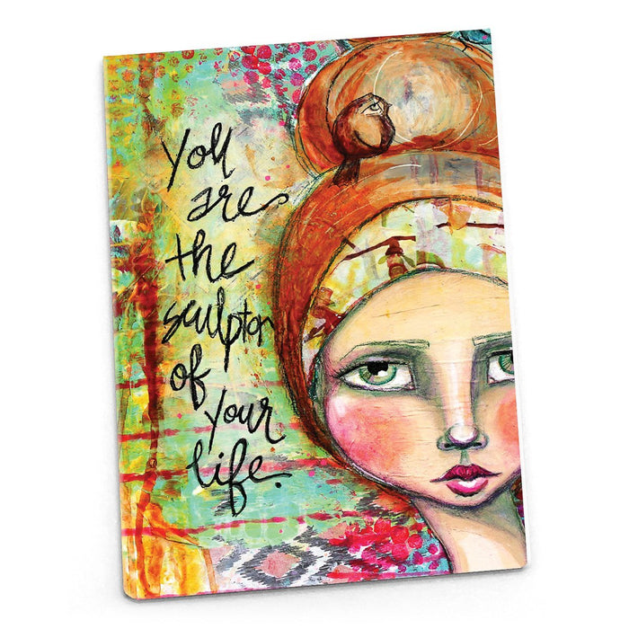 Female Empowerment Magnet: You are the Sculptor of Your Life