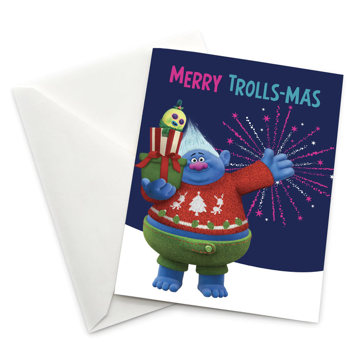 "Biggie and Mr. Dinkles ""Merry Trolls-mas"" Holiday Card"