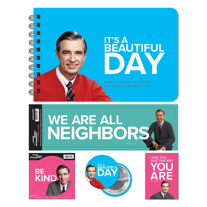 Mister Rogers gift bundle from Papersalt