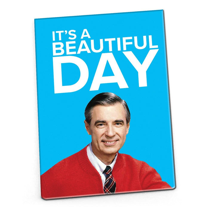 Mister Rogers Magnet: It's a Beautiful Day