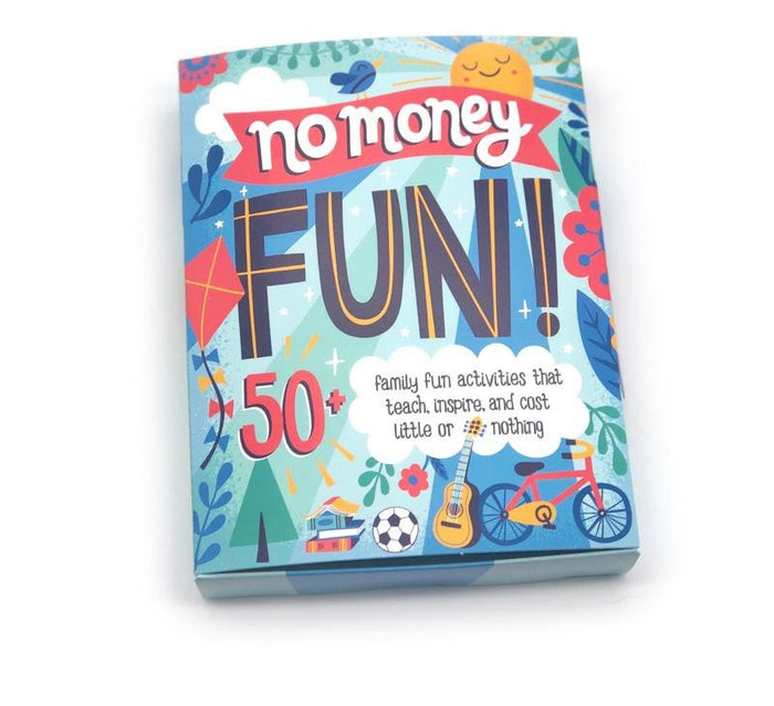 """No Money Fun"" Activity Cards - Game For Kids and Families"