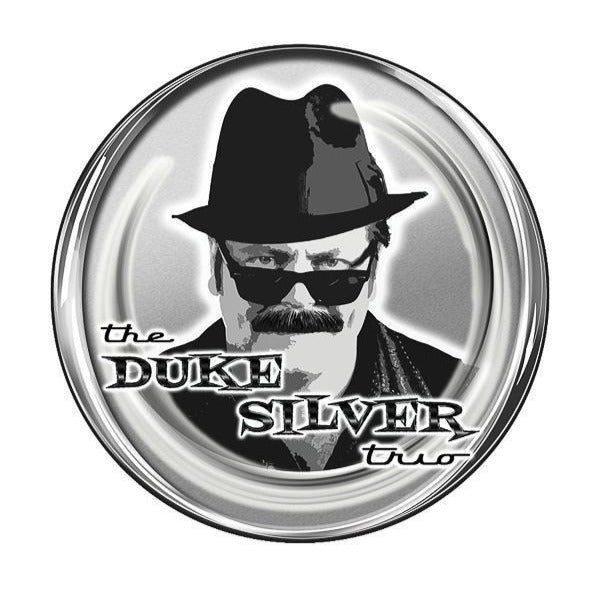 Duke Silver Trio Kiss-Cut Sticker