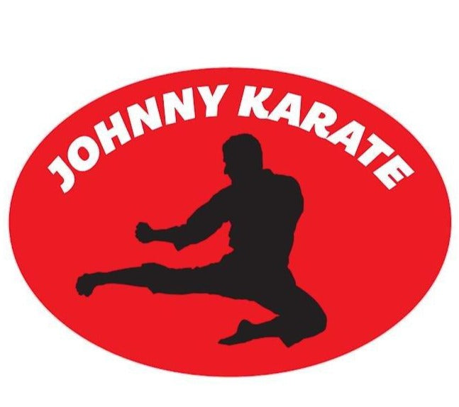 Johnny Karate Kiss-Cut Sticker