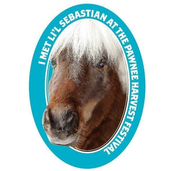 Li'l Sebastian Kiss-Cut Sticker